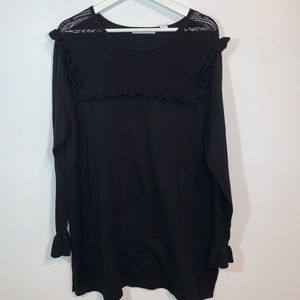 Eight eight eight XL Black Sweater Dress
